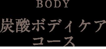 BODY 炭酸ボディケアコース